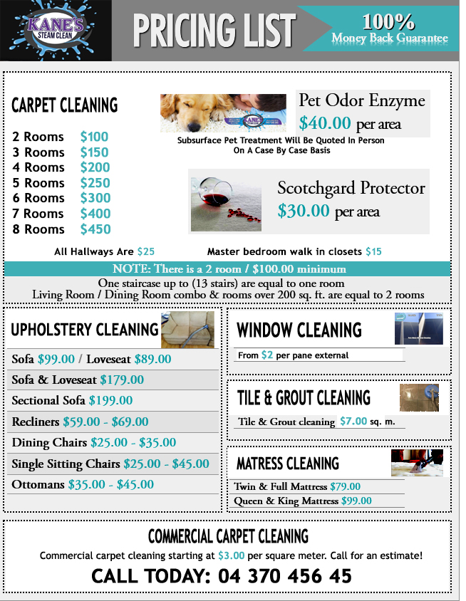 carpet cleaner Swan Hill price